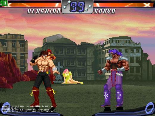 北斗神拳winMugen版图片