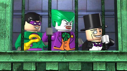 乐高蝙蝠侠图片