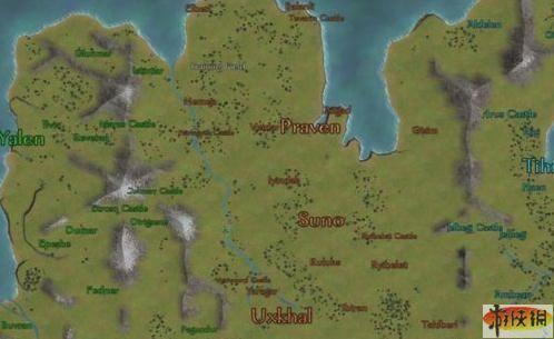 《骑马与砍杀 战团》战略地图模式_骑马与砍杀