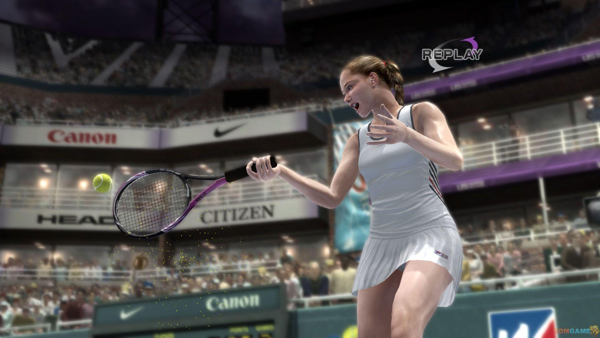 《虚拟网球4》的小技巧
