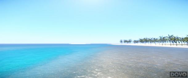 艳Mod图赏 碧海蓝天沙滩浴就等你来了图片