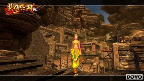 首发《笑傲江湖OL》表示全方位西域v面的装修设计图里面的字母打造图片