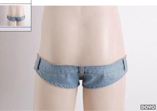 日本超短齐b牛仔裤已上市