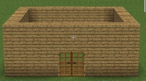 我的世界 最简单房子制作方法图片