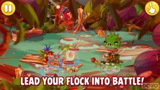 《愤怒的小鸟:史诗》竟然是冒险回合RPG!