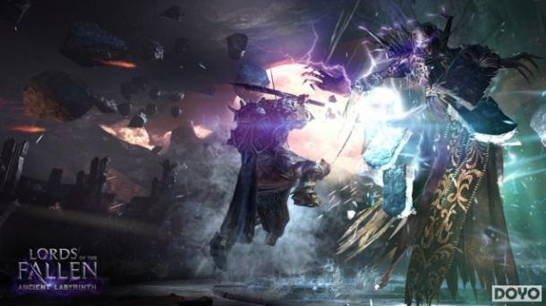 """《堕落之王》首款DLC""""远古迷宫""""登陆4平台"""