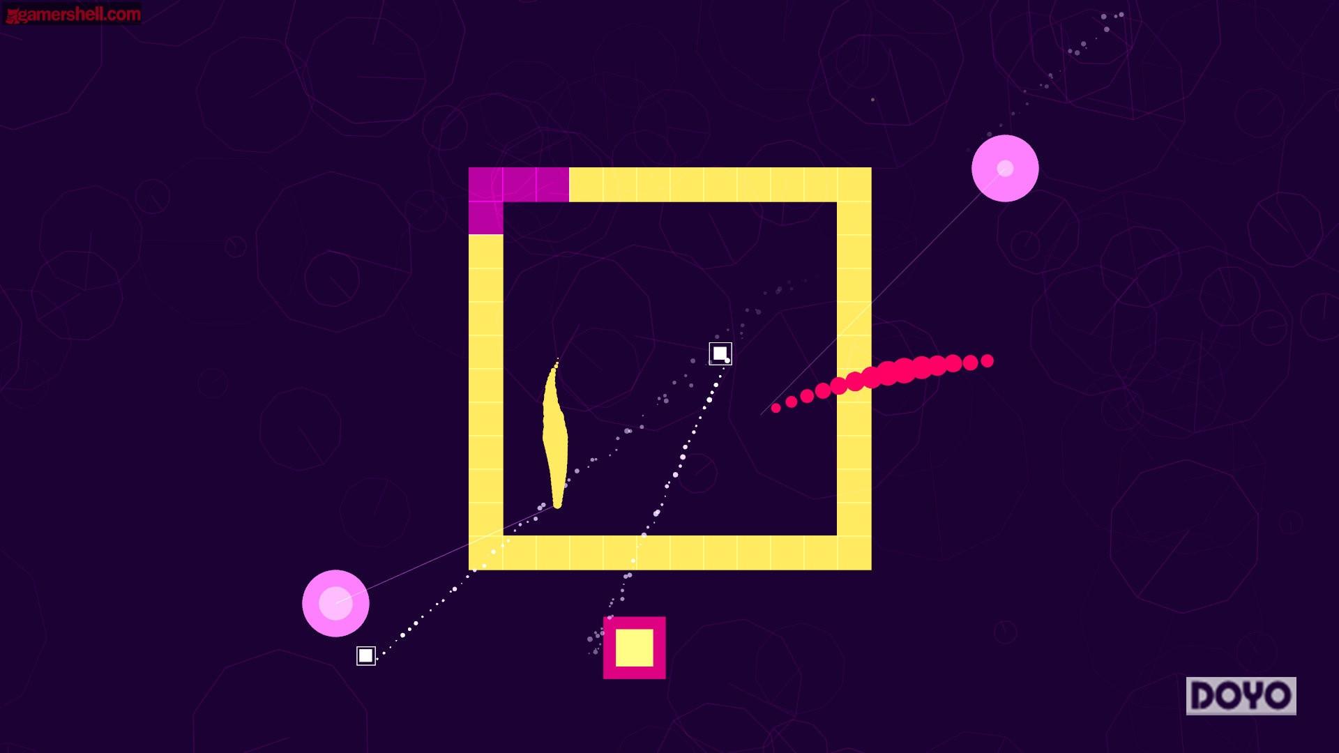 双摇杆射击游戏《软躯》新截图 静谧的音乐游戏