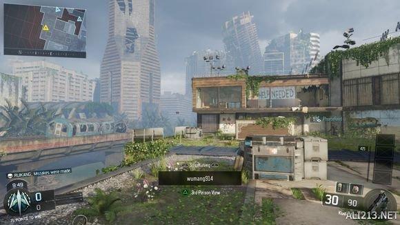 《使命召唤12:黑色行动3》beta测试版模式武器与地图对战图文心得