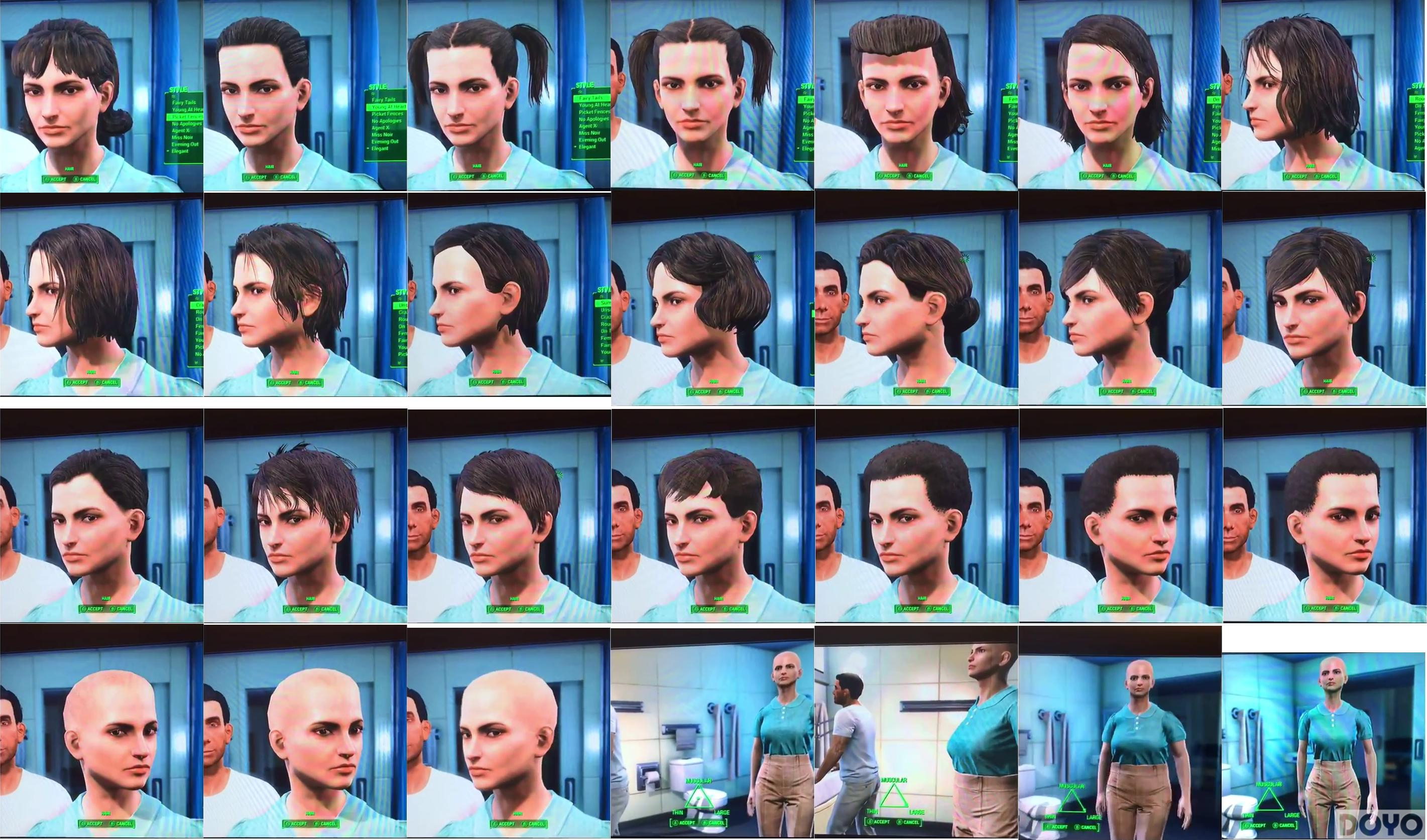 先来选一个 《辐射4》大发快三官网男女主角全部发型样式泄露