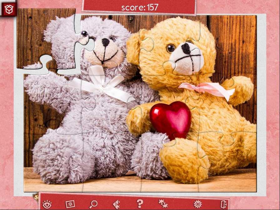情人节假日拼图3图片