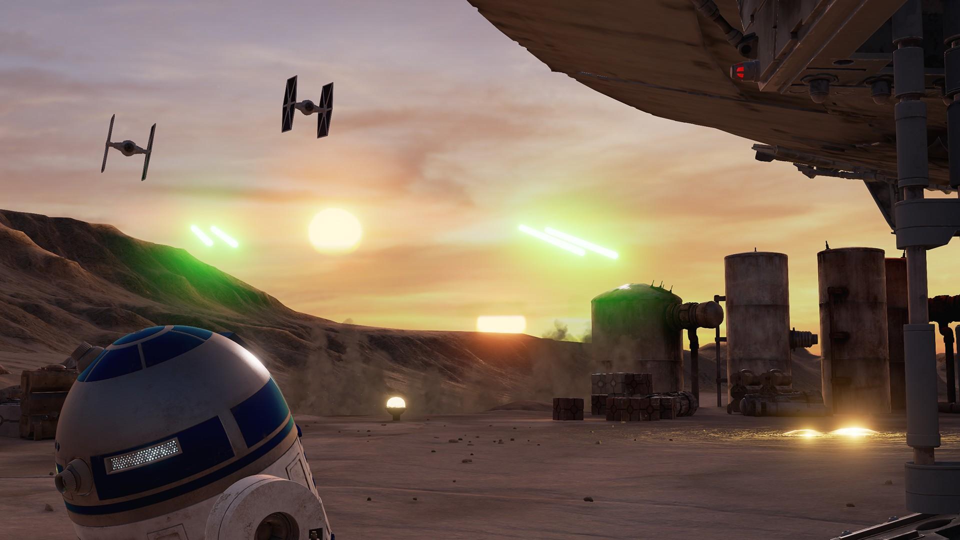 VR游戏道:《星球大战:塔图因之旅》免费登陆PC