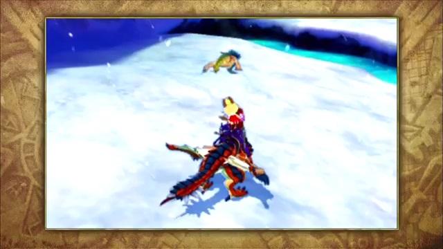 游戏玩法抢先看 《怪物猎人物语》实机介绍视频