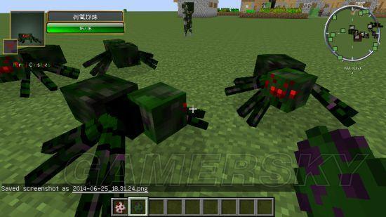 我的世界 原版及MOD怪物图鉴介绍图片