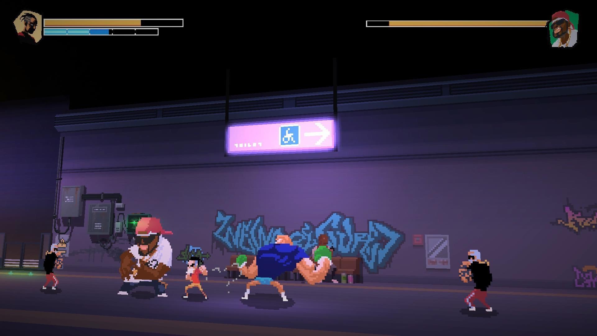 《英雄就是我》是由Crazyant工作室开发的一款横版像素风动作格斗游戏