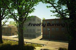 自由飞行燃烧图片
