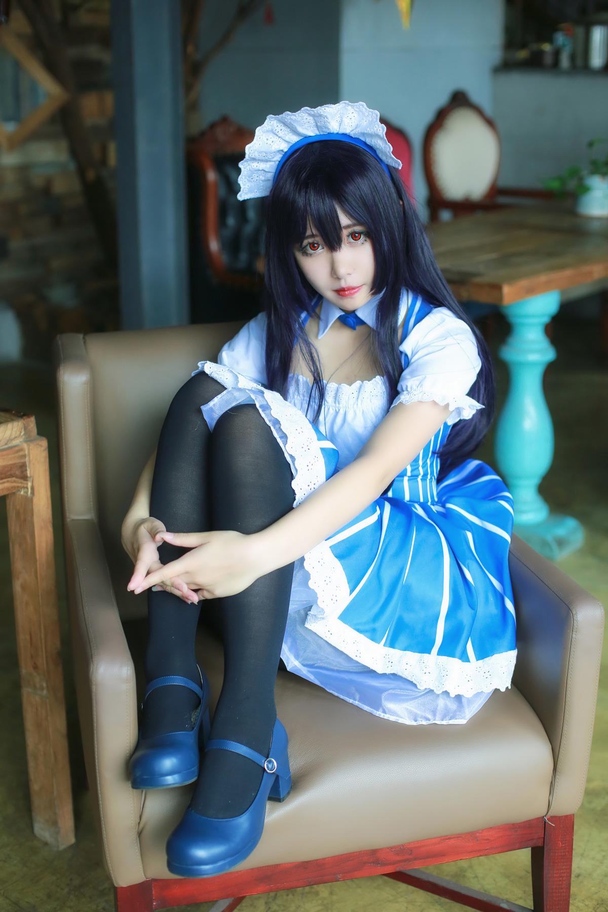 可爱的黑丝女仆送福利 大师级cosplay美图欣赏