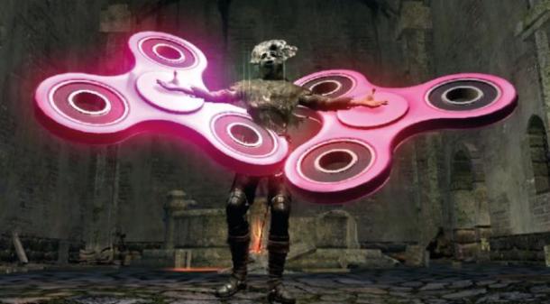 《黑暗之魂》被MOD玩坏了 场面奇葩玩家Hold不住