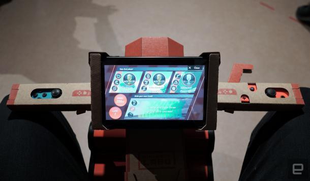 瘾科技试玩任天堂Labo 确认三种难度可自建赛道