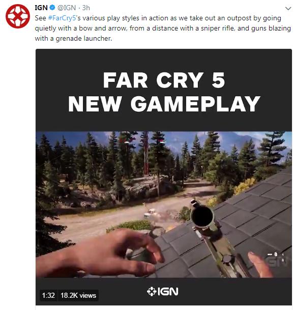 《孤岛惊魂5》IGN独家演示