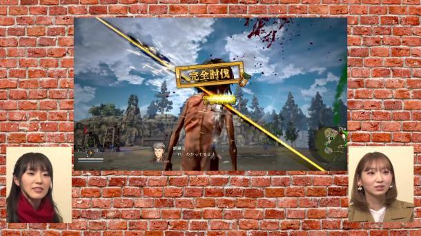 《进击的巨人2》声优试玩 最强角色与声优合体