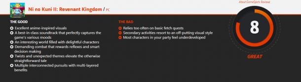 《二之国2:亡灵国度》媒体评分 游戏体验相当棒
