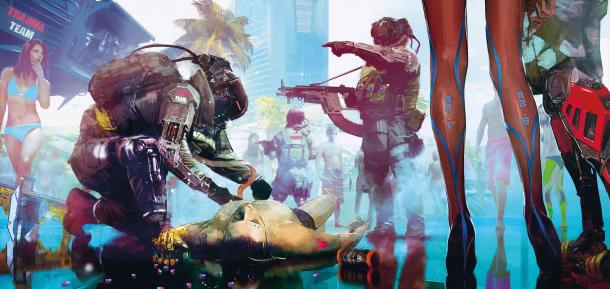 果然很前卫《赛博朋克2077》新艺设图及信息公布