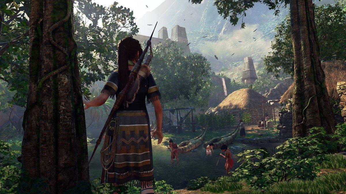 《古墓丽影:暗影》劳拉新截图 身着<a class='simzt' href='http://www.3dmgame.com/games/maia/' target='_blank'>玛雅</a>人外套