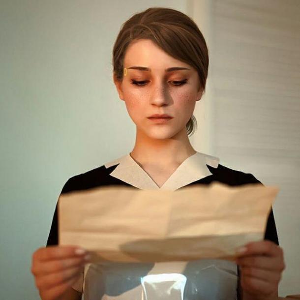 《底特律:变人》卡拉Cos美图 完美还原仿生人家政女仆