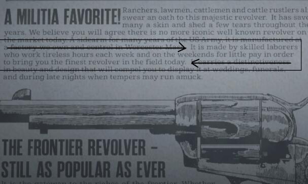 R星加班太恐怖?《大鏢客2》游戲內廣告暗藏吐槽