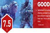 《战地5》多人IGN7.5分 bug多、部分系统不成熟