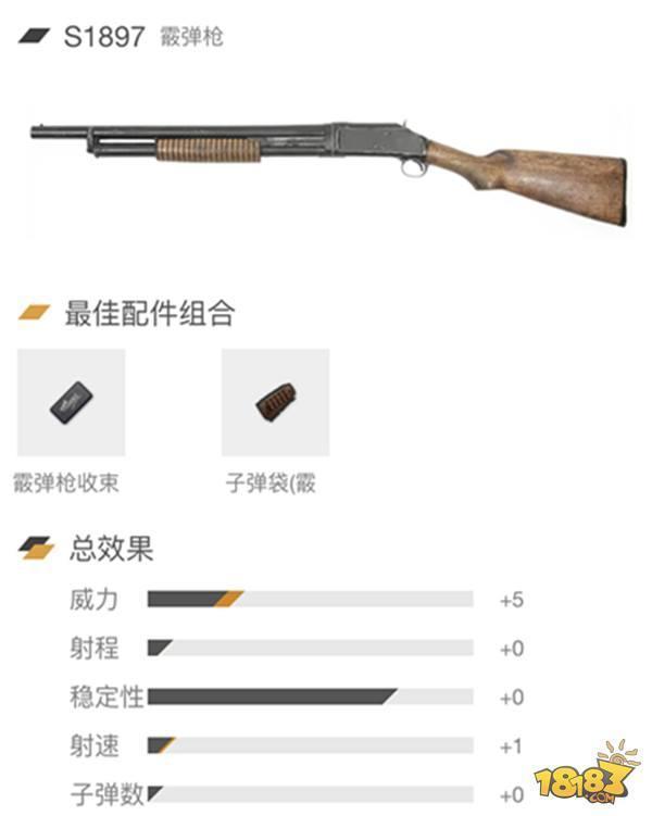 刺激战场霰弹枪全解析:近战霸主 一枪一个