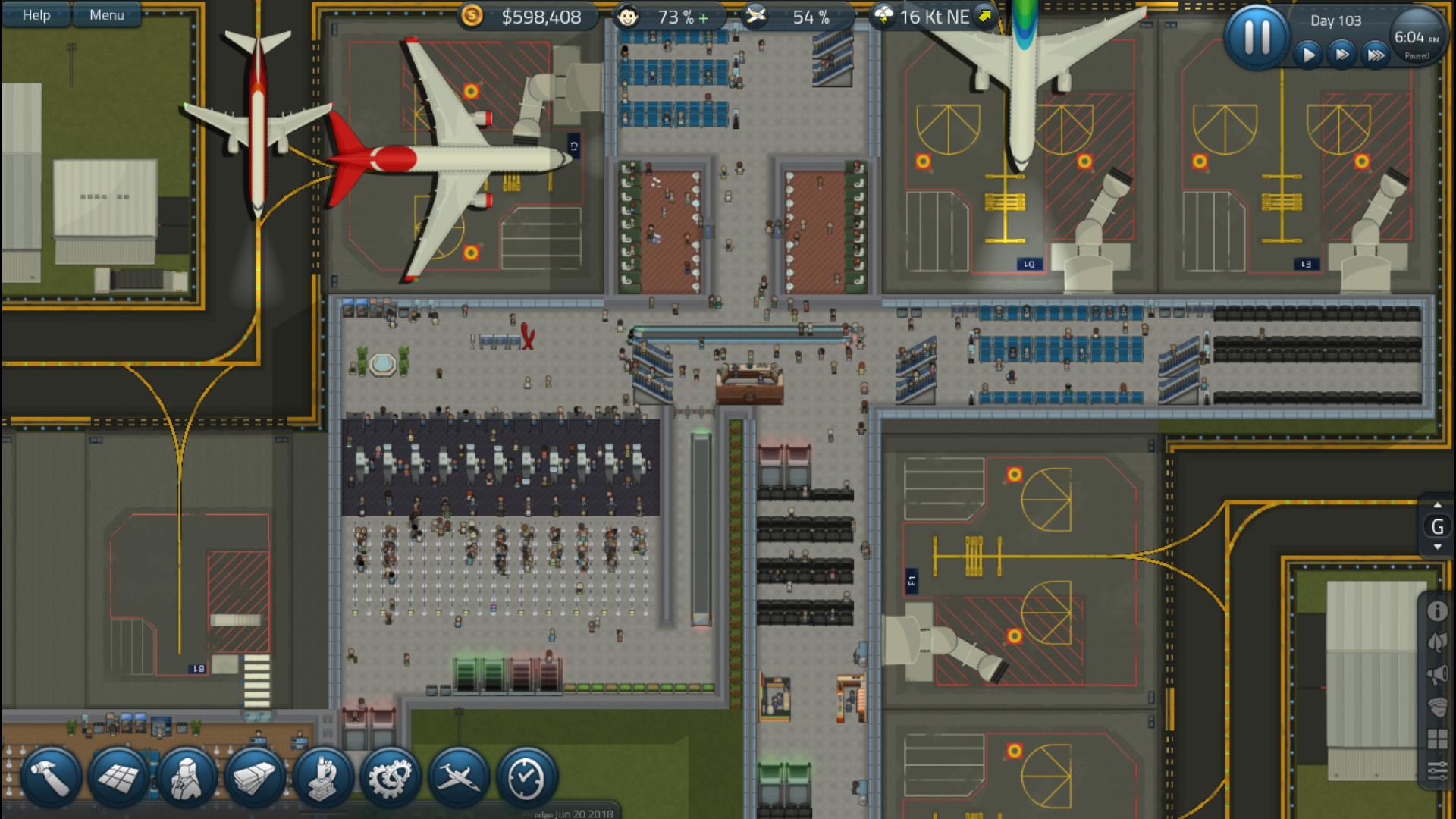 模拟机场图片
