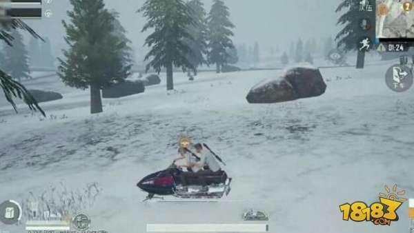 刺激战场雪地摩托车介绍 雪地地图不二之选