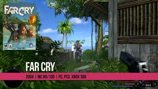 死粉们来看看玩过几部 《孤岛惊魂》全系列大回顾