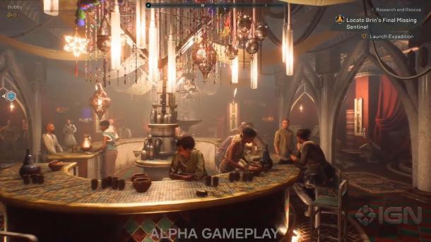 《圣歌》7分钟新演示 探索游戏大本营塔西斯堡