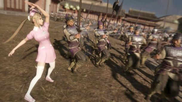 《真三国无双8》新服装DLC上线 护士新娘女学生全都有