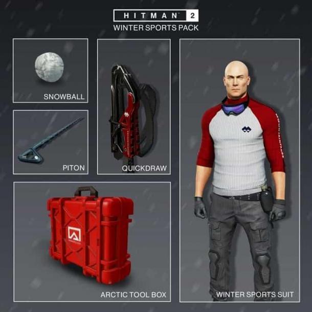 《杀手2》冬季运动包推出 在冬季北海道追杀目标