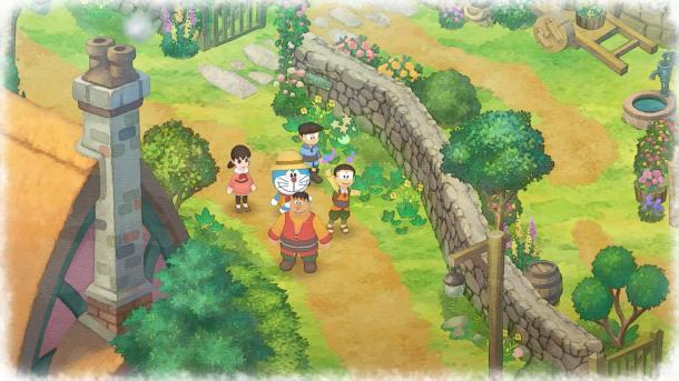 机器猫种地《哆啦A梦:大雄的牧场物语》年内发售