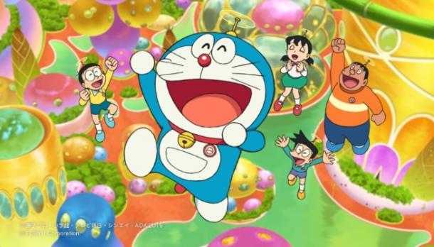 电影改Switch《哆啦A梦:大雄的月球探测记》最新预告公开