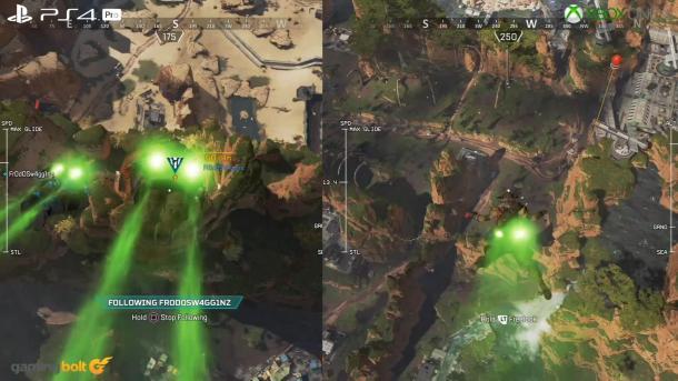 《Apex英雄》PC/PS4 Pro/X1X画面对比 表现都不错