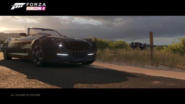 《极限竞速:地平线4》更新 FF15雷加利亚Type-D登场