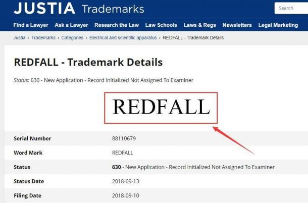 《上古卷轴6》副标题Redfall陷入版权纠纷 明年无望玩到