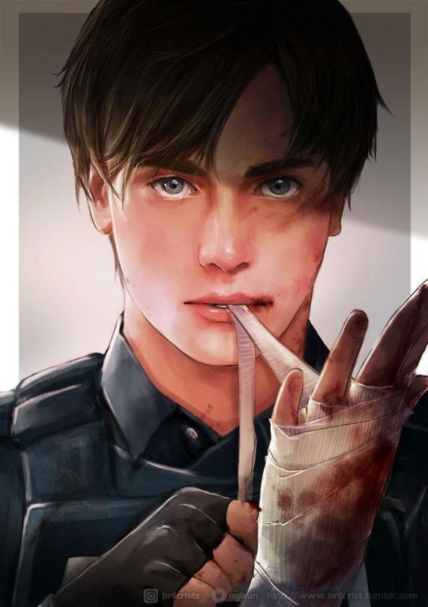 玩家最爱《生化危机2:重制版》里昂 男主被玩坏