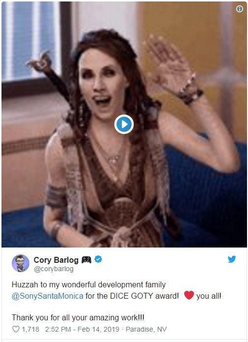 国外网友整理《战神4》最全搞笑动图 让人捧腹大笑