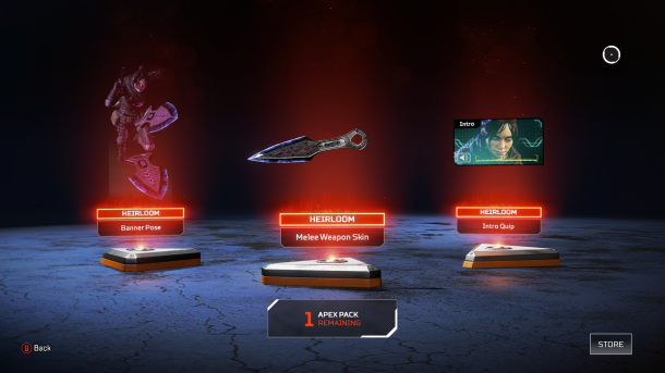 《Apex英雄》玩家花500美元氪出稀有道具后大喊不值