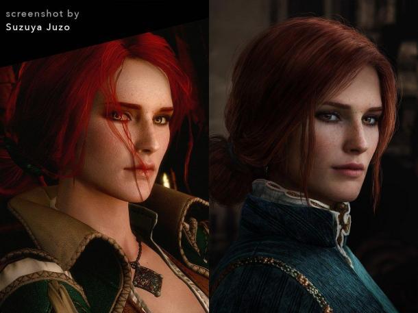 《巫师3》粉丝自制主要角色渲染图 不逊于官方原版