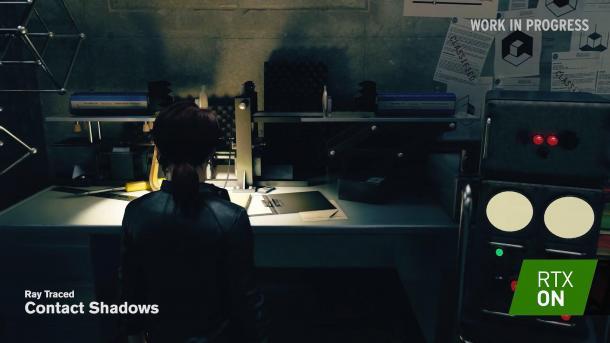《控制》光线追踪技术视频演示超惊艳光影效果