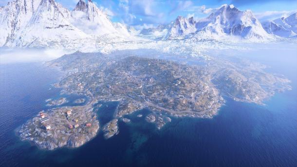 《战地5》大逃杀模式地图公布 是目前最大地图的10倍