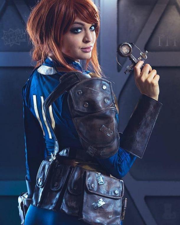 国外美女Cos《辐射4》女角图赏 女战士性感妖娆