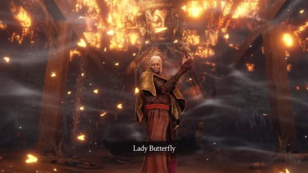 确实不难?目前已经有三成玩家成功打败了《只狼》首个BOSS蝴蝶婆婆